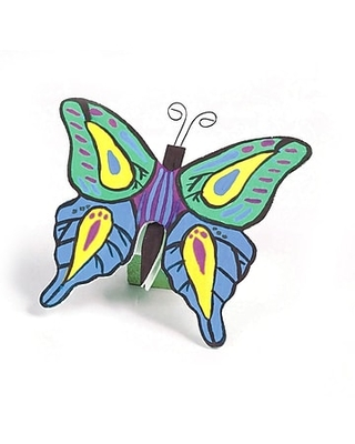 S&S Unfinished Wooden Butterflies, 12/Pack