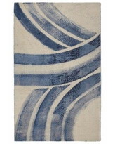 Get This Deal On Victorine Abstract Tufted Cream Blue Area Rug Ivy Bronx Rug Size Rectangle 5 X 7