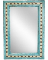 "Bungalow Rose Salma Rectangle Wall Accent Mirror BGRS4606 Size: 36"" H x 24"" W x 2"" D"