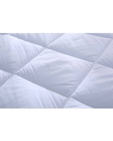 St. James Home Stain Resistant Mattress Pad, 300 Thread Count