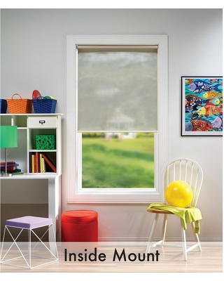 Discover Deals On Bali Cut To Size Cream Cordless Uv Blocking Fade Resistant Roller Shades 60 In W X 72 In L Ivory
