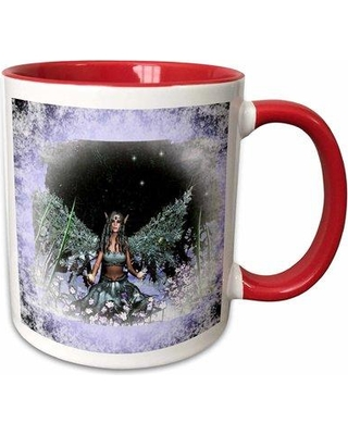 Symple Stuff Valorie Winter Solstice Winter Fairy Coffee Mug X111170807 Color: Red