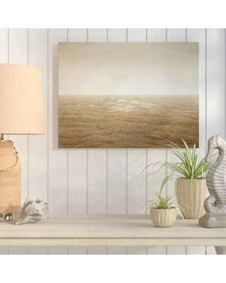 """Highland Dunes 'Sea at Sunrise' Print on Wrapped Canvas HLDS2627 Format: Wrapped Canvas Size: 24"""" H x 32"""" W x 2"""" D"""