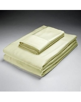Caro Home Rayon from Bamboo Pillowcase 52500B05 Size: Standard Color: Ivory
