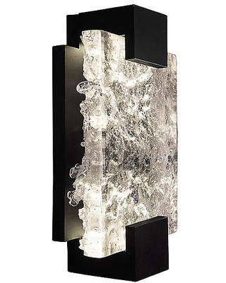 Terra LED Wall Sconce by Fine Art Handcrafted Lighting - Color: Black - Finish: Black - (896550-11ST)