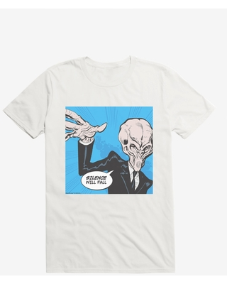 Doctor Who Silence Will Fall Pop Art T-Shirt