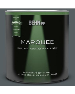 Sales On Behr Marquee 1 Qt 720f 6 Paramount Semi Gloss Enamel Exterior Paint Primer