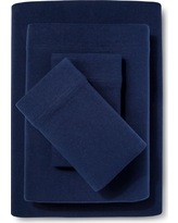 Jersey Sheet Set - (Twin) Navy - Room Essentials, Solid Navy