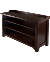 Dayton Entry Storage Bench - Winsome, Brown