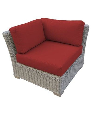 Rosecliff Heights Claire Patio Chair with Cushions TKCL4179 Cushion Color: Terracotta