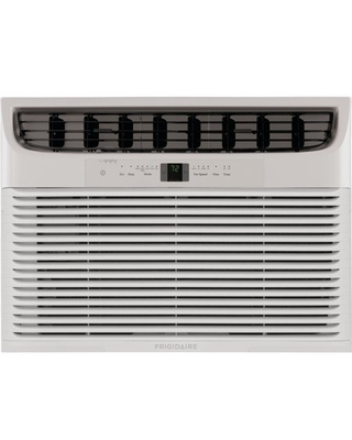 Frigidaire 18,000 BTU Window Air Conditioner with Supplemental Heat and Slide Out Chassis