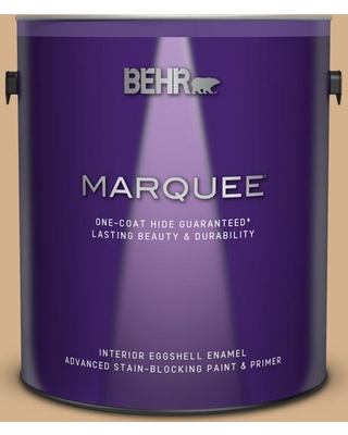 BEHR MARQUEE 1 gal. #S290-4 Summerwood Eggshell Enamel Interior Paint and Primer in One