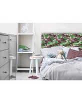 American Kids Camo Tufted Headboard, Available in Multiple Prints