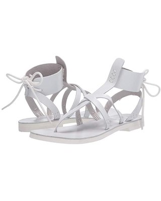 Free People Vacation Day Wrap Sandal (White) Women's Shoes