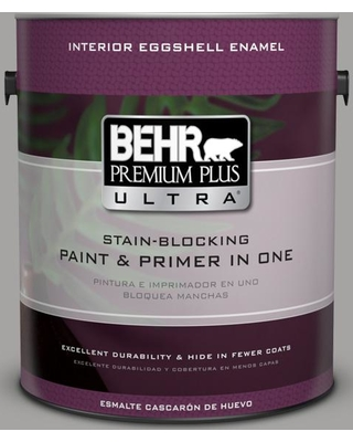 BEHR ULTRA 1 gal. #PPU26-07 Smokey Wings Eggshell Enamel Interior Paint and Primer in One