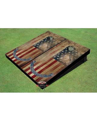All American Tailgate We The People Flag Cornhole Board GR-1035