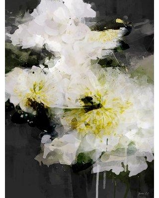 """Wrought Studio 'Deep Down' Acrylic Painting Print VRKG4953 Size: 18"""" H x 14"""" W Format: Wrapped Canvas"""