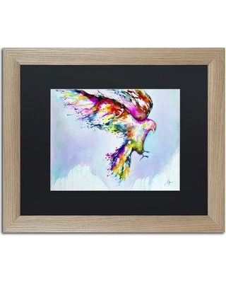 "Trademark Art 'Faust' Matted Framed Painting Print on Canvas ALI2300-T1 Size: 11"" H x 14"" W x 0.5"" D Matte Color: Black"