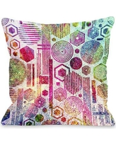 One Bella Casa Glittered Poly Throw Pillow 72665PL18