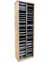 """Wood Shed Multimedia Wire Tower 209-2 / 209-3 Size: 39.43"""" H x 12.75"""" W x 6.75"""" D"""