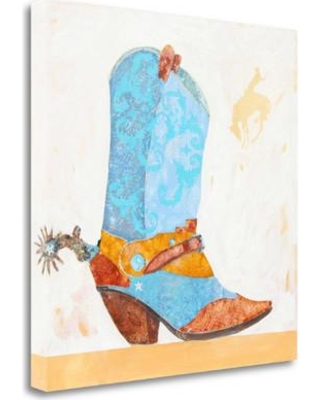 Tangletown Fine Art 'Boy Boot' Graphic Art Print on Wrapped Canvas ICG738D-2020c