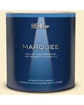 Can T Miss Bargains On Behr Premium Plus 1 Qt 300a 1 Opal Cream Satin Enamel Exterior Paint And Primer In One
