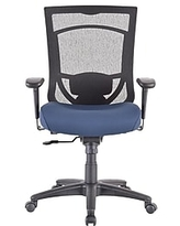 Huge Deal On Tempur Pedic Mesh Back Fabric Computer And Desk Chair Black Tp6450 Blkmb