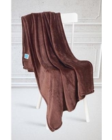 Charlton Home Kelling Blanket BF064500 Color: Brown, Size: Throw