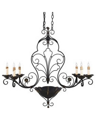 Fleur De Lis Living Slaton 6 - Light Candle Style Classic / Traditional Chandelier X111810073