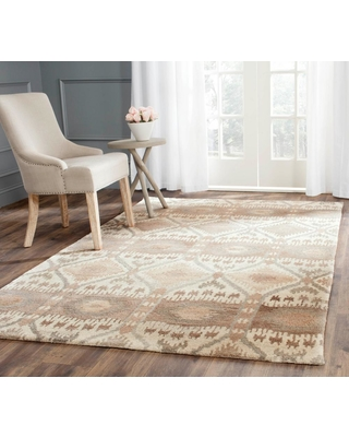 Safavieh Wyndham Natural/Multi 4 ft. x 6 ft. Area Rug