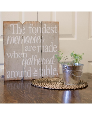 """BOULDER INNOVATIONS 16 in. x 16 in. """"The Fondest Memories"""" by Printed Wall Art"""