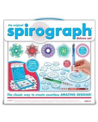 The Original Spirograph Deluxe Set - Arts & Crafts for Ages 8 to 10 - Fat Brain Toys