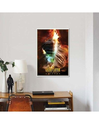 """East Urban Home 'Grand Canyon' Graphic Art Print on Canvas EBHU7336 Size: 40"""" H x 26"""" W x 1.5"""" D"""