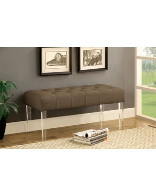 Furniture of America Herndon Contemporary Bench, Multiple Colors
