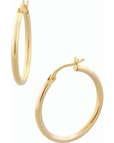 Women's Bony Levy 14K Gold Hoop Earrings (Nordstrom Exclusive)