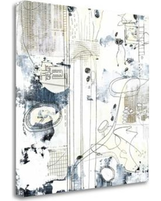 """Tangletown Fine Art 'Neutral Abstract III' Graphic Art Print on Wrapped Canvas SBSO1028-1818c Size: 18"""" H x 18"""" W"""