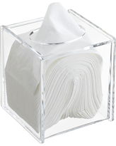 Hinged-Lid Boutique Tissue Box