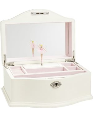 Find the Best Deals on Abigail Jewelry Box Large White