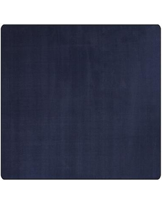 Flagship Carpets Americolors Navy Area Rug AS-NV Rug Size: Square 12'