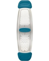 Rachael Ray Stainless Steel Multi-Grater with Silicone Handle 46913 Color: Blue