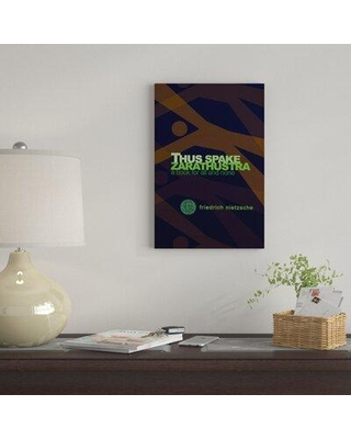 "East Urban Home 'Thus Spake Zarathustra By Robert Wallman' By Creative Action Network Graphic Art Print on Wrapped Canvas FVNF4610 Size: 18"" H x 12"" W x 0.75"" D"