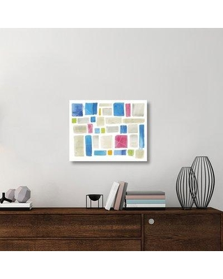 "East Urban Home 'Comares I' Graphic Art Print on Canvas UBAH5955 Size: 22"" H x 28"" W x 1.5"" D"