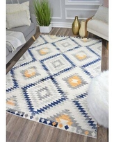 "CosmoLiving by Cosmopolitan Golden Girl Ivory Area Rug 79353027 Rug Size: Rectangle 8'9"" x 12'"