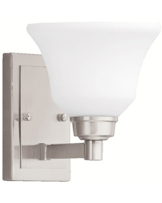Kichler Lighting Langford Collection 1-light Brushed Nickel LED Wall Sconce