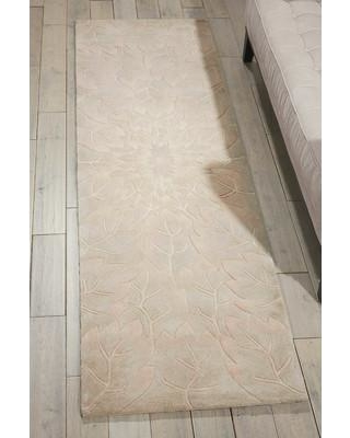 """Bloomsbury Market Downing Hand-Tufted Sand Area Rug BLMK1081 Rug Size: Runner 2'3"""" x 8'"""