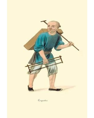 Buyenlarge Carpenter by George Henry Malon Painting Print 0-587-07548-1