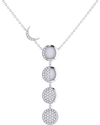 LMJ - Moon Transformation Necklace In Sterling Silver