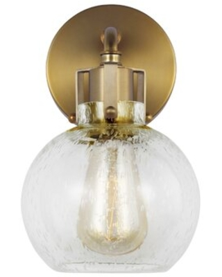Don T Miss These Deals On Michelson 1 Light Dimmable Armed Sconce Fixture Finish Burnished Brass