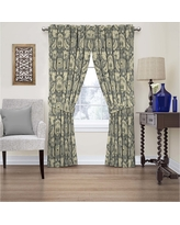 Curtain Panels Waverly Grey Floral