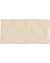 Wade Entry Bench Cushion, Small, Solid - Linen Sand